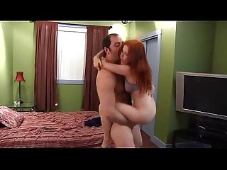 Redhead younger sister seduced by older brother whorecamsxxx com
