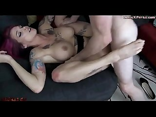 Son slams his big tit step mom