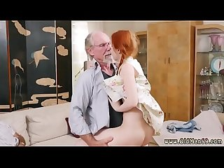 Big cock old daddy anal and pussy exam first time online hook up