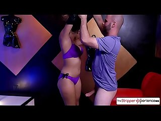 The Stripper Experience - Bubble butt Sophia Leone fucking a huge cock, small tits