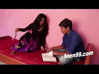 Teen boy and girl in Hindi