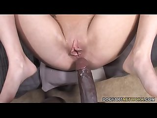 Petite Kelly klass loves black dick