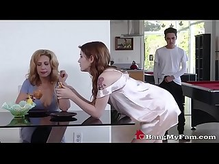 Fucked up mom wants daughter rosalyn sphinx to fuck her stepbro in front of her