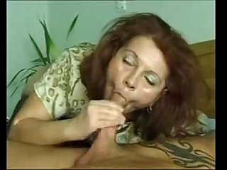 Granny bbw ildiko loves young meat