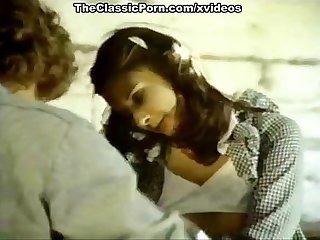 Lyn cuddles malone dan roberts joey silvera in vintage porn scene
