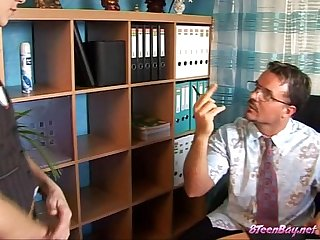 Young school girl with hairy pussy fucked by teacher