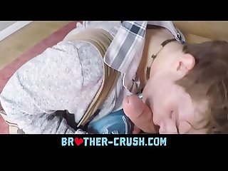 Hot smooth bro ass pounded pov doggystyle brother crush com