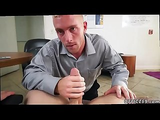 Accidentally cums in straights mouth and ball licking cock blowing