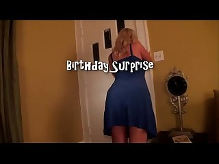 Wife s birthday surprise