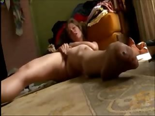 Intense amateur orgasm