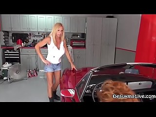 Mechanic deauxma fucks her customer for repairs