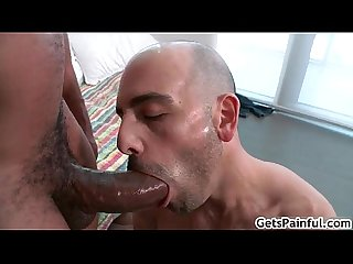 Dude rides enourmous fat black dick 9 by getspainful