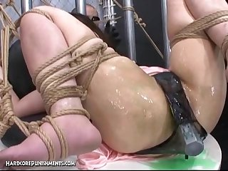 Japanese bondage sex pour some goo over me pt 11