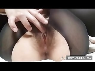 Japanese girl massive contracting orgasm 1