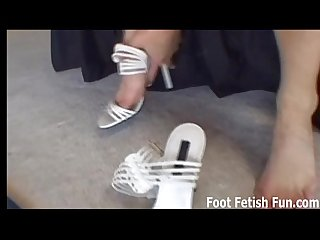 Lick my toes and i will give you a footjob