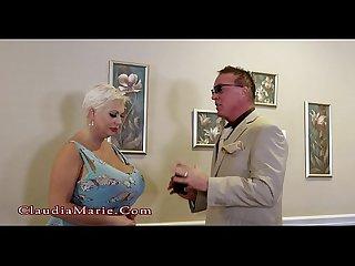 Claudia marie vs silicone balls