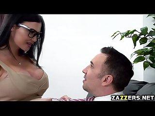 Keiran lee fucks jasmine jaes wide spread pussy