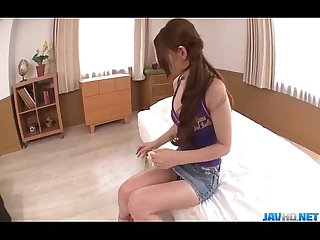 Serious shower adventure for horny China mimura