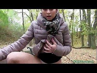 Young squirter enjoying public fuck - Public PickUps 14