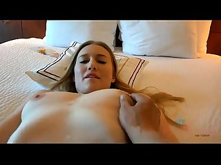 Riley reyes amateur model filmed pov bj and footjob in a motel room