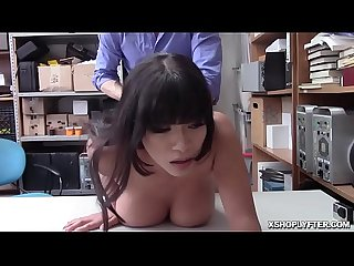 Shoplyfter Aryana pumps her Latina pussy on top!