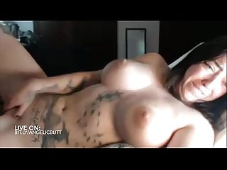 Smoking hot young busty mom masturbates and cums on cam bit ly angelicbutt