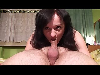 sucking his cock with 2 cumshots