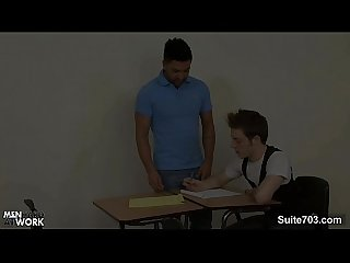 Gay students fucking in the classroom