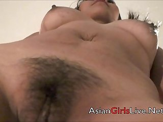 Filipina webcam asian cam model in hotel stripping shows tits ass pussy