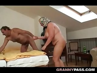 Chubby granny still loves fucking