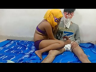 Indian house wife sharing bed with devar when his husband deeply sleeping