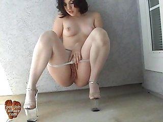 Sandra teasing