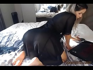 Sexydea sexy black in bed