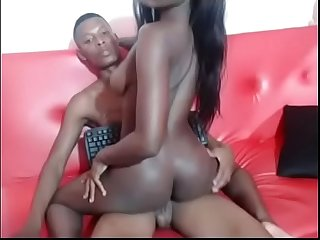 African American Upcoming Ebony Pornstars Fucked For Scene Review- Watch More HD Porn on..