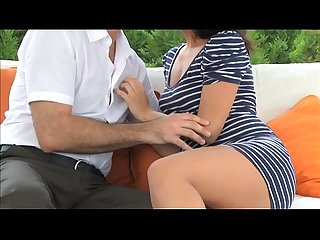 Mom brunette milf gets some loving