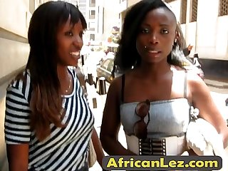 Must see these stunning amateur African lesbians on camera Final alta