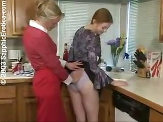 Lesbians in the kitchen