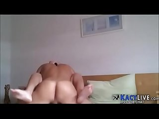 German amateur creampie with orgasm - KacyLive.com