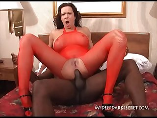 MDDS Squirting Hotwife Anal Fucked by Black Dick