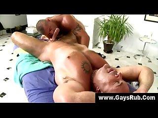 Gay straight massage anal fuck
