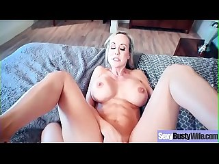 Naughty Sexy Wife (Brandi Love) With Big Juggs Enjoy Hard Sex vid-04