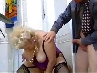 German kinky mature blonde
