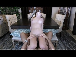 Little kimmy takes big cock and cumshot