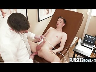 Cute boy creampied by big dick doctor-FUNSIZEBOYS.NET