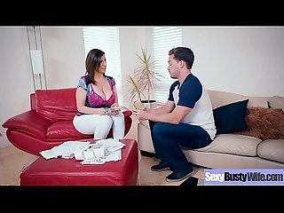 Sexy Busty Wife (Sara Jay) Love Intercorse On Camera movie-24