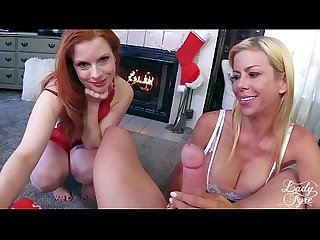 My Two Moms -Alexis Fawx & Lady Fyre Christmas Taboo Special