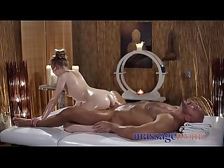 Massage Rooms Standing 69 with petite naughty Czech nymph spinner Lady Bug