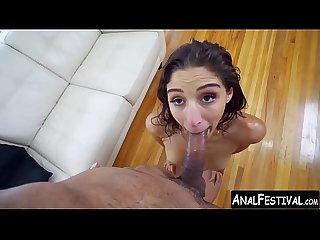 Twerking hottie abella danger shows off her dick treatment