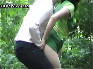 Cheating wife Videos of green dress slut Fucking A male wearing clothes