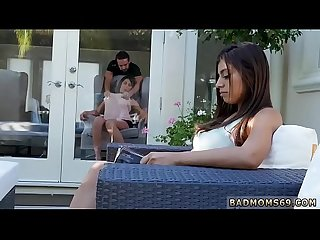 Japan family sex education and sexy horny step mom Family Love
